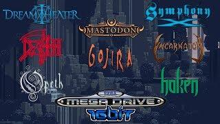 Progressive Metal bands in 16-bit (Sega Mega Drive)