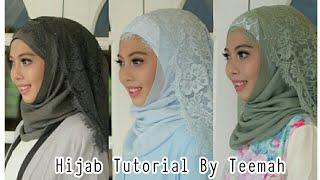 วิธีคลุมผ้าฮิญาบ Hijab tutorial by Teemah
