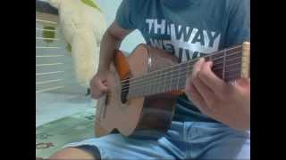 Mơ về chốn xa guitar cover - roll euro