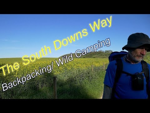 Backpacking And Wild Camping  The South Downs Way  A 100 Mile Trail
