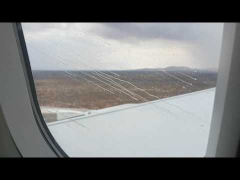 Rain curtain landing in Windhoek