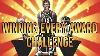 WINNING EVERY NBA AWARD REBUILDING CHALLENGE IN NBA 2K20