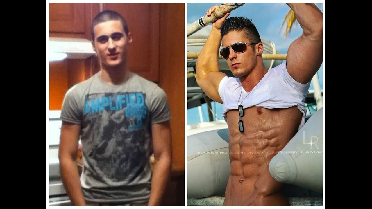 Body Transformation From Skinny To Shredded Mat Wolf