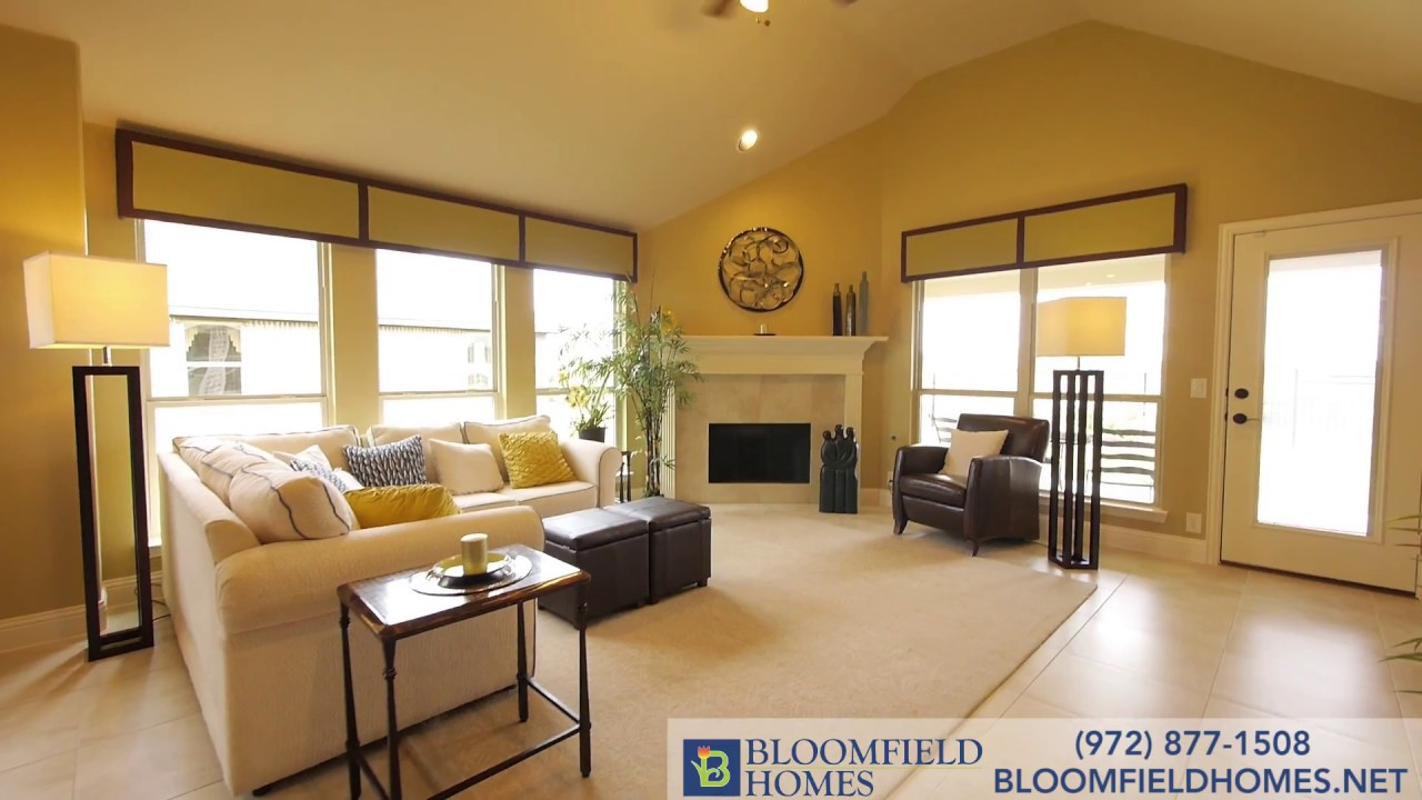 Hawthorne Floor Plan New Homes in DFW – Bloomfield Homes Floor Plans