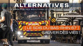 4 Fourgons pompe-tonne secours routier (FPTSR) Scania  - SDIS 67