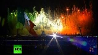 ¡Viva México! Video of amazing fireworks on 200-yr anniversary of independence