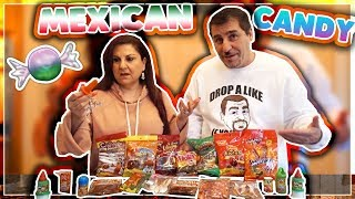 TRYING MEXICAN CANDY FOR THE FIRST TIME!!