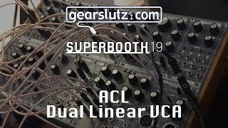 ACL - Dual Linear VCA: Presentation & HQ Audio - Gearslutz @ Superbooth19