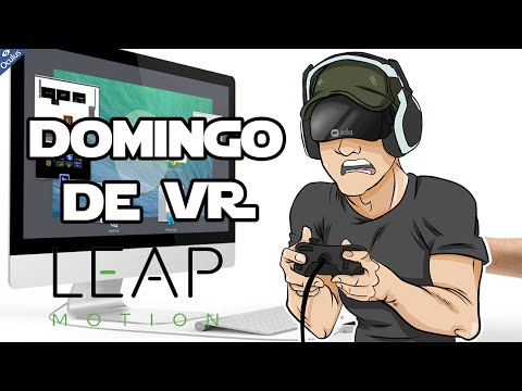 EL JARVIS DE IRON MAN | LEAP MOTION| Domingo de Realidad Virtual Ep. 3