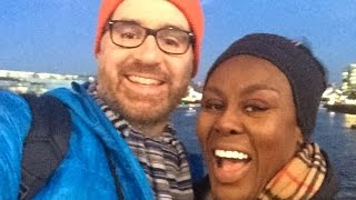 WALKING ON THE TOWER BRIDGE, IN LONDON WITH OLE. xoxoxo Thumbnail