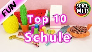 10 Dinge die jeder Schüler kennen sollte | COOLES für die SCHULE | Favoriten TOP10 Back to school