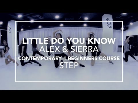 Contemporary Beginners Course (Level 1) | Step Choreography (22-May-17)