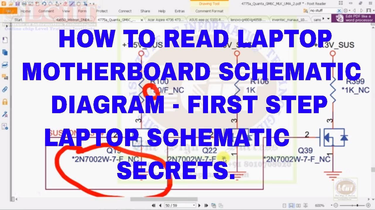 how to read laptop motherboard schematic diagram secret point [ 1280 x 720 Pixel ]