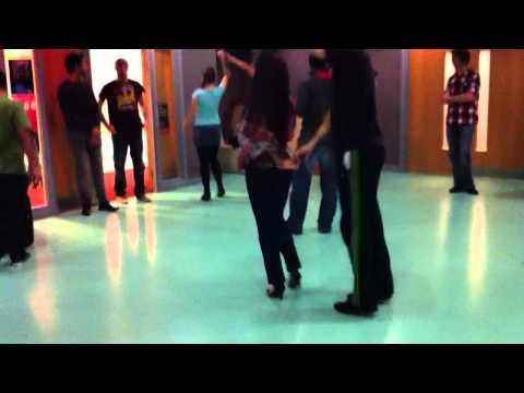 University of Bradford Africa Arts Society - salsa intermediate Theo Alexandra n Stefan
