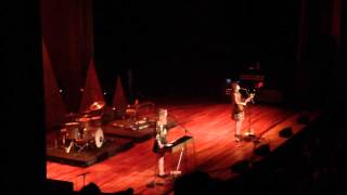 "First Aid Kit live covering ""Will You Miss Me When I"