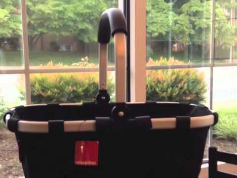 reisenthel market basket sku 504766 youtube. Black Bedroom Furniture Sets. Home Design Ideas