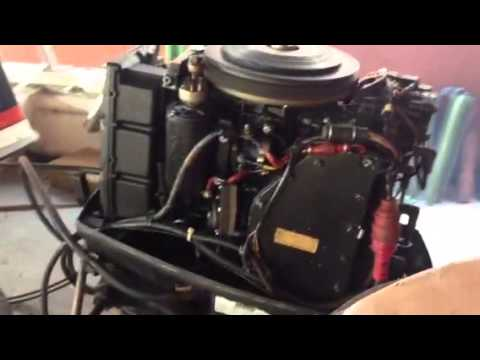 Motor evinrude 65 hp youtube for 15 hp motor weight