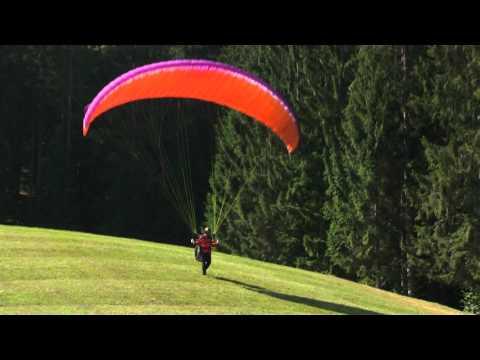 Optimal Aufziehen bei Windstille - DHV-Skyperformance
