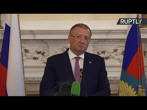 LIVE: Russian ambassador to the UK Alexander Yakovenko holds press conference