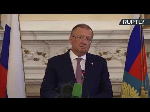 LIVE: Russian ambassador to the UK Alexander Yakovenko holds press conference