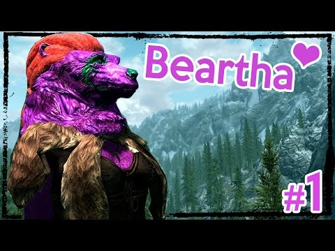 Modded Hardcore Skyrim: Beartha the Brave [Ep. 1]
