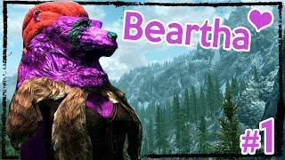 Modded Hardcore Skyrim: Beartha the Brave [Ep. 1]