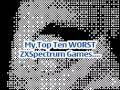 My Top Ten Worst ZX Spectrum Games So Far