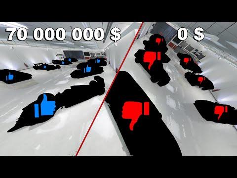 MON GARAGE A 0 $ vs MON GARAGE A 70 000 000 $