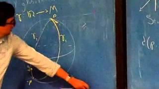 Acerca de la curvatura de una variedad Riemanniana.- Jaime Santos Rodríguez