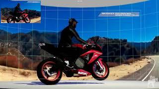 Fika Entertainment - Realtime VFX - LED Motorbike Travel Sequence Tech-vis
