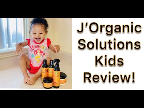 J'Organic Solutions Kids Review