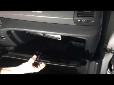 Nissan Micra 3 Замена салонного фильтра How to Cabin Air Filter Replacement