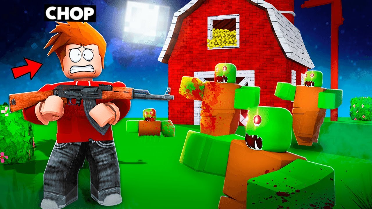 Download CHOP AND FROSTY FIGHT MILLION ZOMBIES IN ROBLOX