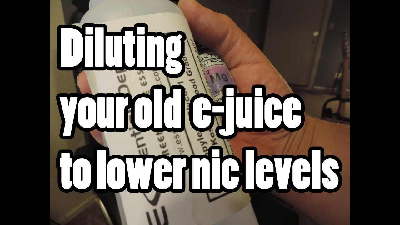 how to make your own e juice without nicotine