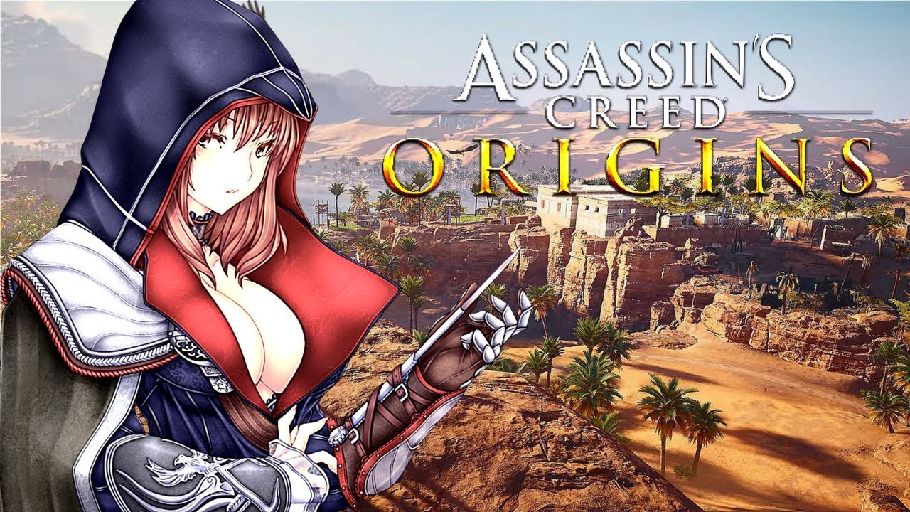 Mad Assassin S Creed Origins Anime Style Opening