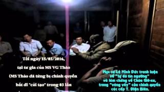 """Mục sư Lê Minh Đức nói về """"tự do tín ngưỡng"""" và làm chứng cho CQ các cấp T.Điện Biên (15.03.16')"""