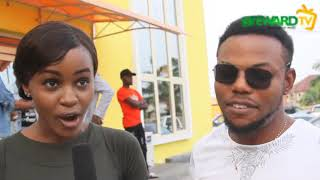 Called out Ng red carpet with Mildred Odimegwu and xploit comedy