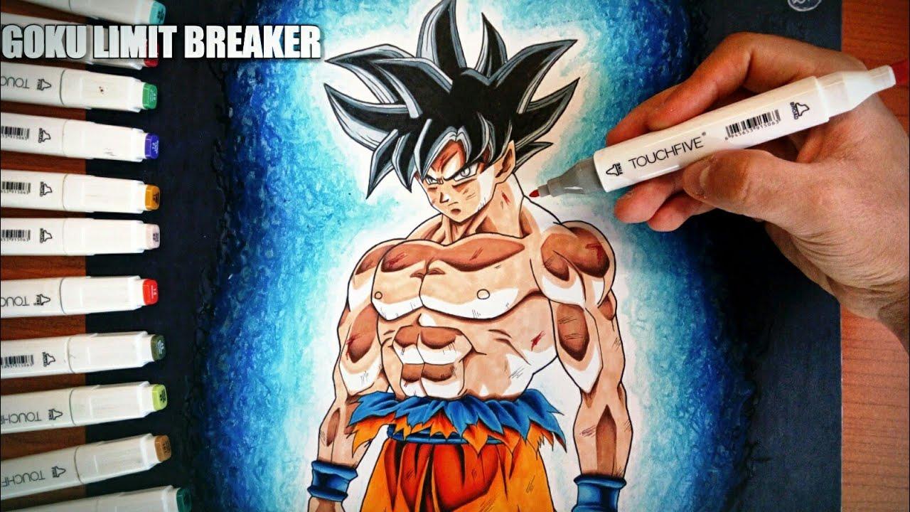 Disegno Goku Ultra Instinto Ultra Instinct Speed Drawing Youtube