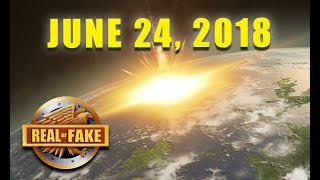 WORLD ENDS JUNE 24, 2018  - Real or Fake?