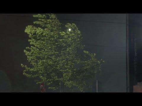 4:00 AM Friday - Video From Jacksonville, NC - Hurricane Dorian