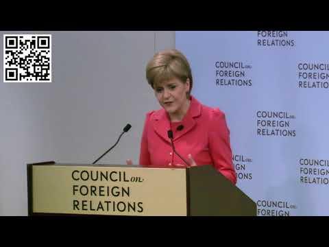 Nicola Sturgeon @ CFR