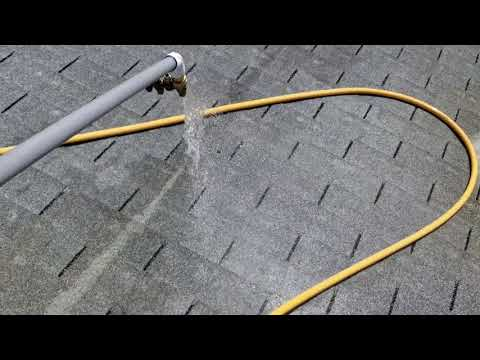 36 year old Asphalt Shingle roof gets no Pressure Cleaning