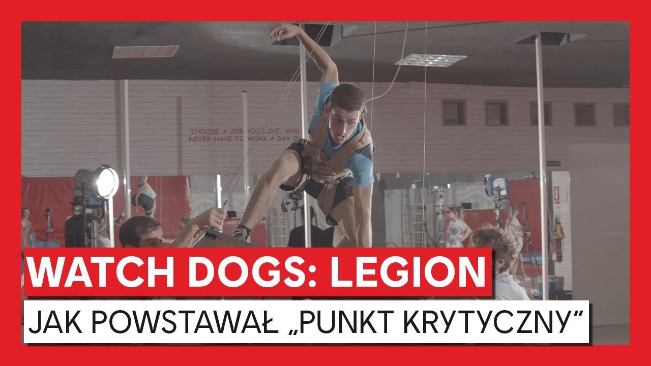 """Watch Dogs: Legion – jak powstawał """"Punkt krytyczny"""""""