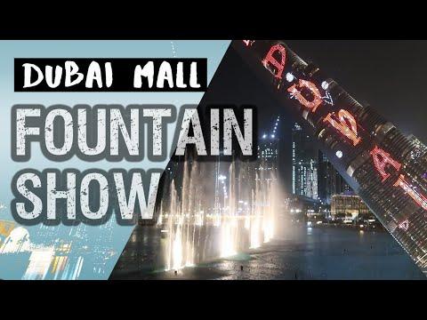 DUBAI MALL FOUNTAIN SHOW 2020