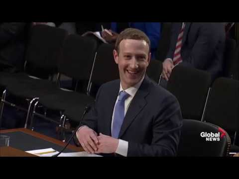 """You're supposed to answer yes:"" Senator jokes with Zuckerberg after he wavers on softball question"