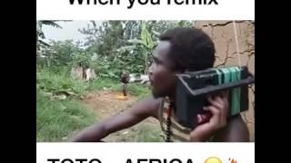 When you remix TOTO-AFRICA ( by Jesse Bloch)