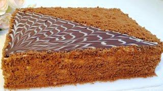 Paxtadek Yumshoq Shokoladli Asalli TORT СПАРТАК ТОРТ ШОКОЛАДНЫЙ МЁДОВЫЙ ТОРТ HONEY CAKE