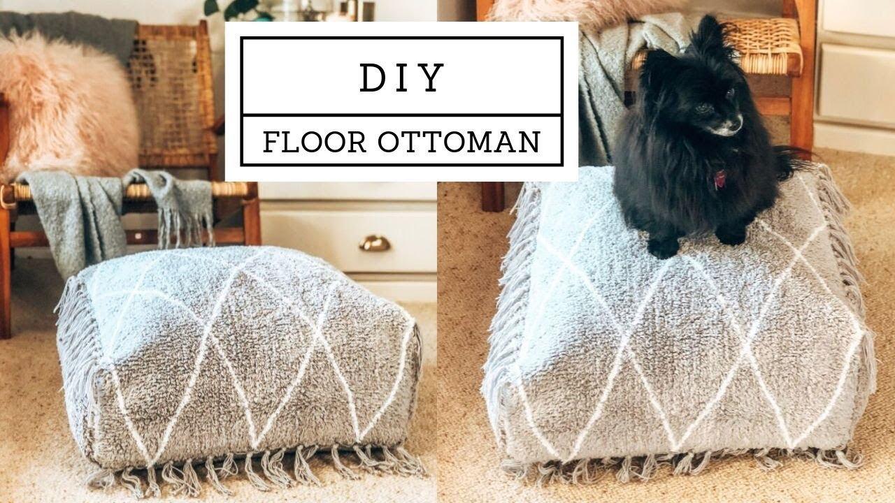 Diy Moroccan Style Ottoman Floor Pouf