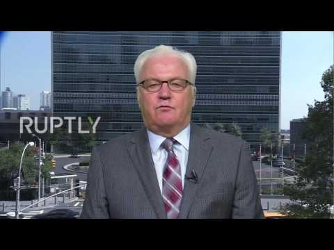 USA: Geneva deal brings Putin's anti-terror 'coalition' closer - Russian UN Envoy