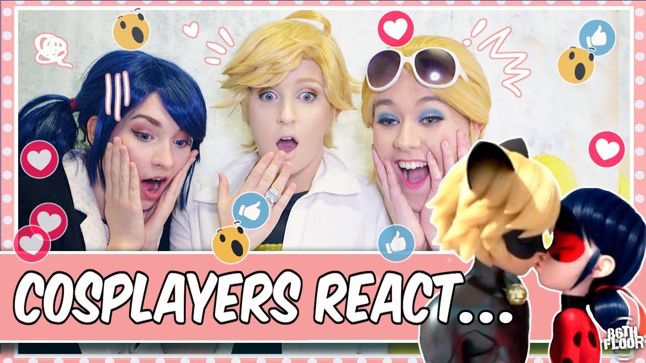 Download Cosplayers React to Miraculous Ladybug - Oblivio 😱😍